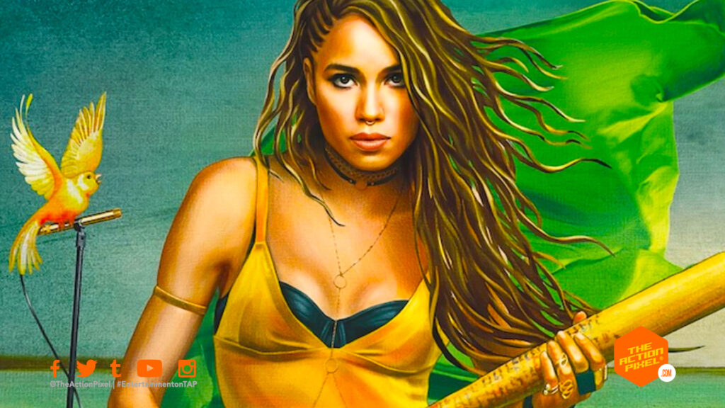 Jurnee Smollett, smollett, black canary, entertainment on tap, hbo max, hbo max dc comics, dc comics, the action pixel, entertainment on tap , featured,