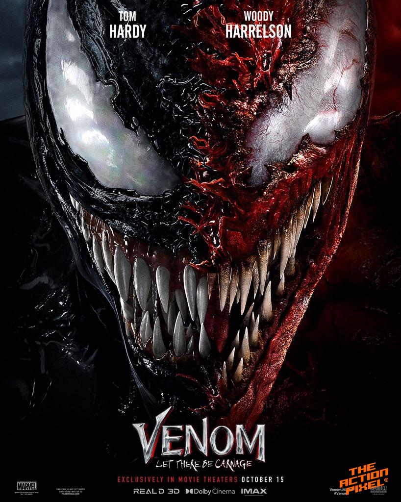 venom, venom let there be carnage, venom 2, venom: let there be carnage, venom 2 poster, venom: let there be carnage poster, venom let there be carnage poster, entertainment on tap, the action pixel, featured,