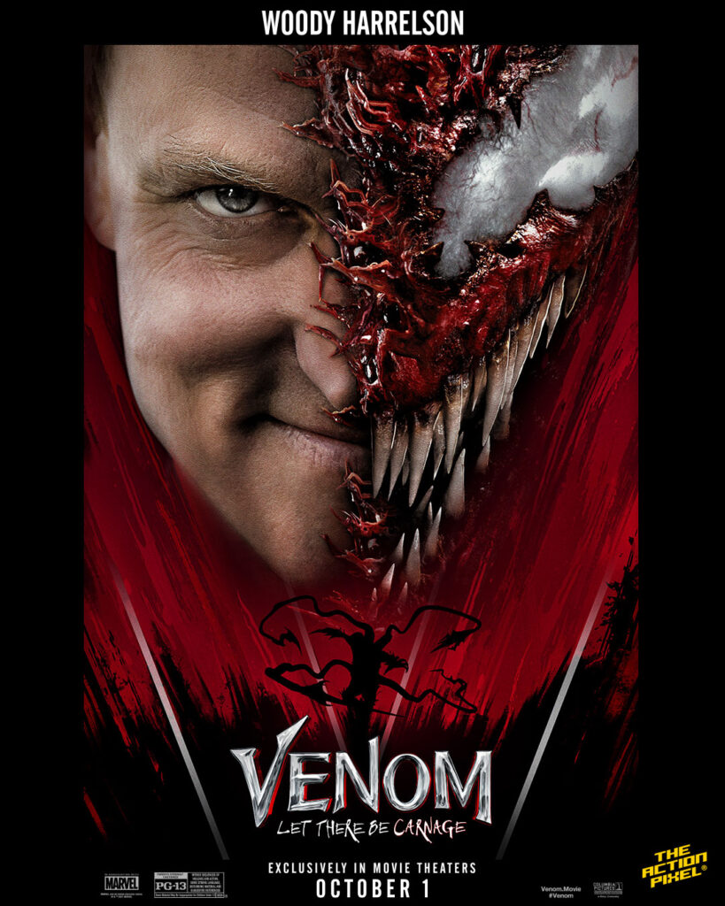 venom, tom hardy, woody harrelson, naomie harris, michelle williams, venom, carnage, marvel, venom marvel movie, carnage marvel, marvel comics, sony pictures, sony pictures marvel, shriek, shriek marvel, entertainment on tap, featured, venom 2, venom let there be carnage, venom: let there be carnage,