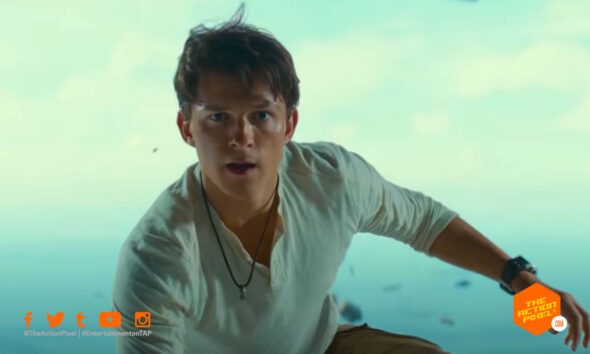 uncharted, tom holland, nathan drake, sony pictures, mark wahlberg, entertainment on tap, the action pixel, featured,